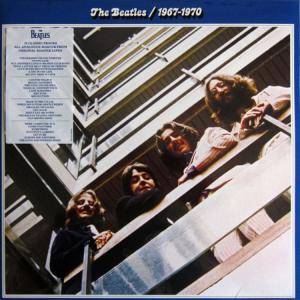 BEATLES BLUE ALBUM 1967-70 (LP) - 1059