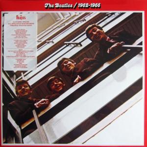 BEATLES - RED ALBUM 1962 -1966 (LP) - 1076