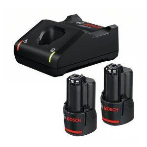 Σετ Φορτιστή GAL 12V-40 και Μπαταριών 12V με 2 Μπαταρίες 2.0Ah Bosch