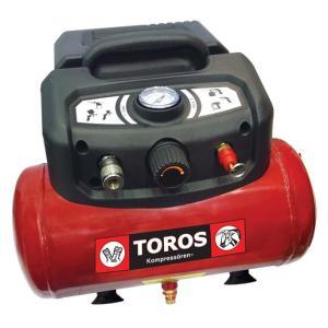 Αεροσυμπιεστής OIL FREE 6Lt, 1.5HP  Toros