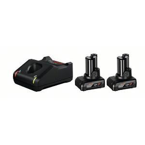 Σετ Φορτιστή GAL 12V-40 και Μπαταριών 12V με 2 Μπαταρίες 6.0Ah Bosch