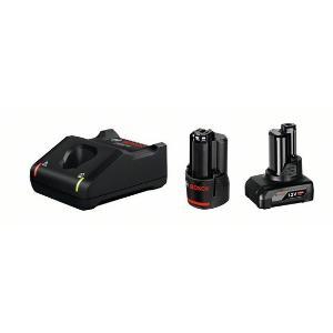 Σετ Φορτιστή GAL 12V-40 και Μπαταριών 12V (1x4.0Ah) και (1x2.0Ah) Bosch