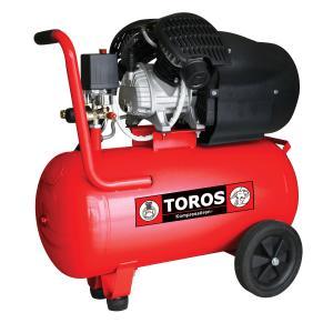 Αεροσυμπιεστής Μονομπλόκ Λαδιού 50lt/3HP Toros