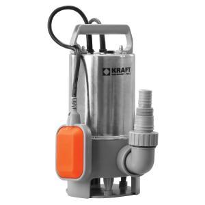Ανοξείδωτη υποβρύχια αντλία ακαθάρτων υδάτων 750W Kraft