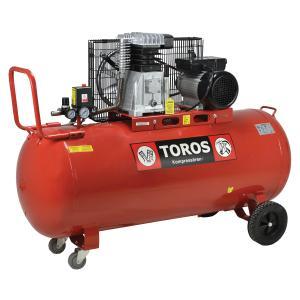 Αεροσυμπιεστής με Iμάντα 150 L/3.0 HP Toros