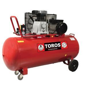 Αεροσυμπιεστής με Iμάντα 200 L/3.0 HP Toros