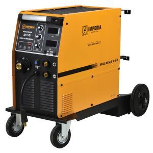 Ηλεκτροκόλληση Σύρματος & Ηλεκτροδίου (MIG/MMA) Inverter MIG 215 Imperia