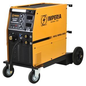 Ηλεκτροκόλληση Σύρματος & Ηλεκτροδίου (MIG/MMA) Inverter MIG 260 Imperia