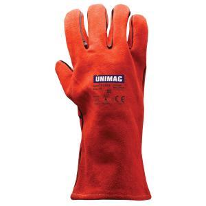 Γάντια Δερμάτινα Ηλεκτροσυγκόλλησης Unimac