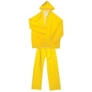Σετ Αδιάβροχο με Παντελόνι Κίτρινο Unimac