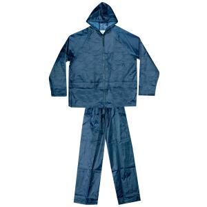 Σετ Αδιάβροχο με Παντελόνι και Θήκη Μπλε Unimac
