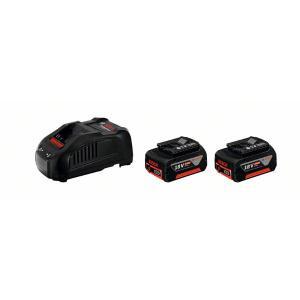 GBA 18V Σετ Φορτιστή GAL 1880 CV και 2 Μπαταριών 18V 6.0Ah