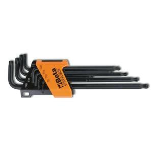 97BTXL/SC8 Σετ με 8 Γωνιακά Κλειδιά Σφαιρικής Κεφαλής, Μακριά Σειρά, για βίδες Torx® Beta