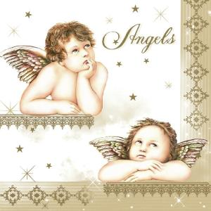 Χαρτοπετσέτεςγια Decoupage Famous Angels