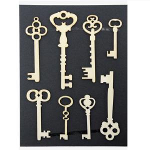 Ξύλινα Διακοσμητικά Κλειδιά
