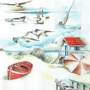 Χαρτοπετσέτα για decoupage sea breeze