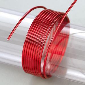 Σύρμα Αλουμινίου - Ø2mm - Red - 5m