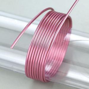 Σύρμα Αλουμινίου - Ø2mm - Light Pink - 5m