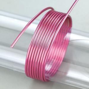 Σύρμα Αλουμινίου - Ø2mm - Bright Pink - 5m