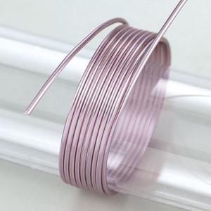 Σύρμα Αλουμινίου - Ø2mm - Lilac - 5m