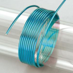 Σύρμα Αλουμινίου - Ø2mm - Turquoise - 5m