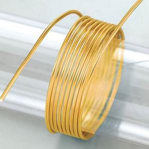 Σύρμα Αλουμινίου - Ø2mm - Gold - 5m