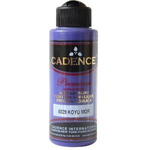 Ακρυλικό χρώμα 120ml Cadence Dark Purple 6029