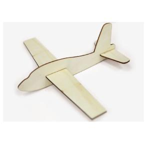 Ξύλινο αεροπλανάκι 25.8cm