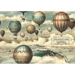 Χαρτί - Αερόστατα - 70x100cm