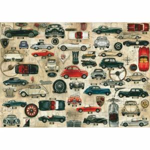 Χαρτί - Cars - 70x100cm