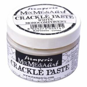 Mix Media Crackle Paste 150 ml, Stamperia