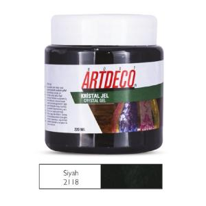 Πάστα crystal Gel Artdeco 220ml μαύρο