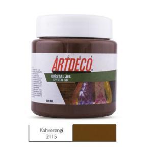 Πάστα crystal Gel Artdeco 220ml Καφέ