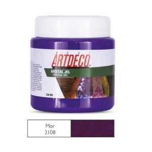 Πάστα crystal Gel Artdeco 220ml μώβ