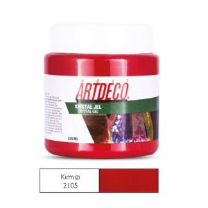 Πάστα crystal Gel Artdeco 220ml κόκκινο
