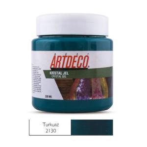 Πάστα crystal Gel Artdeco 220ml τυρκουάζ