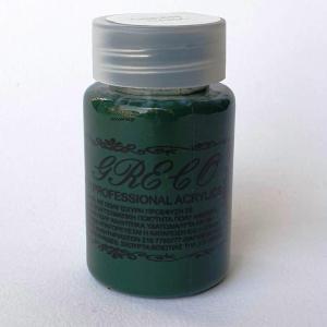 Ακρυλικά χρώματα professional multi – υβριδικά Green Dark 60 ml  El Greco