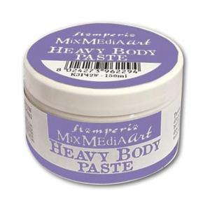 Heavy Body Paste 150ml White Stamperia