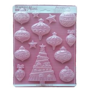 Εύκαμπτο Καλούπι για Σαπούνι-Γύψο - 21x29.7cm - Χριστούγεννα