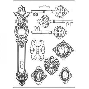 Εύκαμπτο Καλούπι για Σαπούνι-Γύψο - 21x29.7cm - Lady Vagabond Keys And Locks