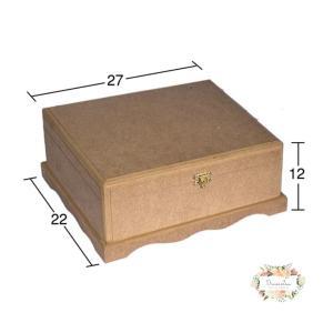 Κουτί MDF 22×27×12cm KU 249
