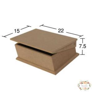 Κουτί MDF 22×15×7.5cm KU 209