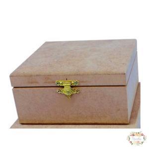 Κουτί MDF 16×16×7.5cm KU345