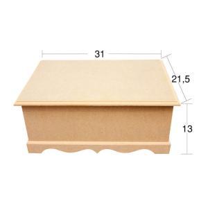 Κουτί mdf 21.5×31×13cm