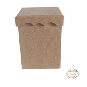 Κουτί MDF 14 × 14 × 18 cm KU 58