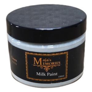 Χρώμα Παλαίωσης Milk Paint Linen Maja's Memories 150ml