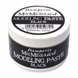 Modellling Paste Black 150 Ml Stamperia