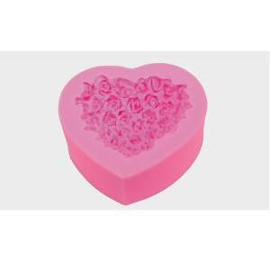 Καλούπι Καρδιά Λουλουδάκια 65mm