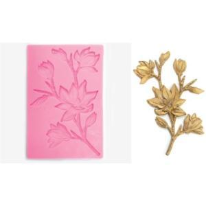 Καλούπι σιλικόνης λουλούδι 19.3cm x 12cm 050515119