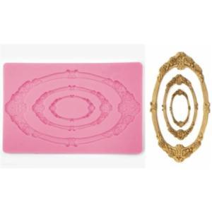 Καλούπι σιλικόνης κορνίζες 12.3cm x 19.5cm 050515139